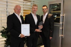 LIEBHERR الألمانية  تفوز بجائزة الإبتكار والإبداع الأوروبي المؤثر