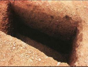 العثور على 3 اجنة داخل قبر في اربد