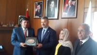 السعود يلتقي رئيس لجنة فلسطين في البرلمان التركي