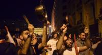 لبنان ..  محتجون يعتصمون امام منزل المرشح لرئاسة الحكومة الصفدي