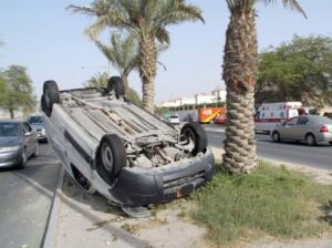 مرج الحمام: مصرع شخص واصابة اخر بتدهور مركبة