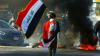 تجدد المواجهات بين المحتجين والامن في بغداد