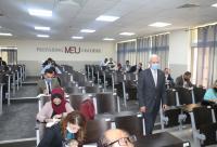 جامعة الشرق الأوسط تستضيف الامتحان التحريري للمحامين المتدربين في دورته الشتوية