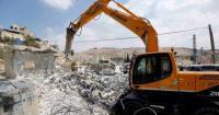 الاحتلال يهدم منزلا قيد الإنشاء في أريحا