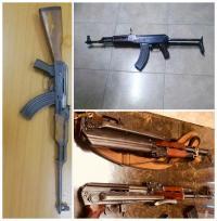 ضبط 16 سلاحا ناريا (صور)