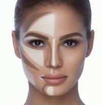 طريقة وضع الكونتور الكريمي على الوجه