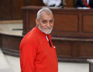 إلغاء حكم السجن 25 عاما على محمد بديع