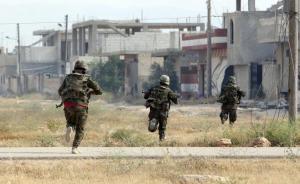 """الجيش السوري يستعيد """"القريتين"""" من داعش"""