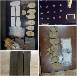 القبض على عدد من مروجي المخدرات في محافظات المملكة (صور)
