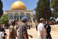 """مئات المستوطنين يقتحمون الأقصى قبيل ذروة """"عيد العرش اليهودي"""""""