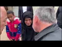 بالفيديو ..  الملك يتفقد احوال المواطنين في وادي عربة