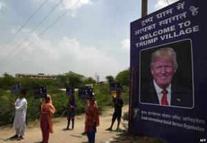 """قرية هندية تحوّل اسمها الى """"ترامب"""""""