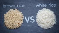 الأرز البني أم الأبيض ..  تعرف على أيهما أفضل