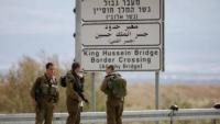 الاحتلال يزعم اعتقال 7 اشخاص تسللوا عبر الأردن