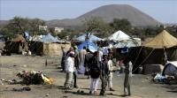نزوح 1500 أسرة جراء القتال في مأرب باليمن