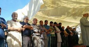 صلاة الجمعة في خيمة سلوان رفضا لقرارات الهدم
