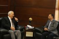"""بحث التعاون المشترك بين """"الشرق الأوسط"""" وصحيفة الغد الأردنية"""