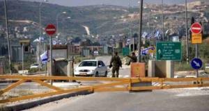 جيش الاحتلال يغلق حاجز بيت فوريك شرق نابلس