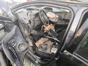 وفاة واصابتان بتصادم 3 مركبات بالشميساني (صور)