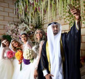 """حقيقة زواج """"اردني"""" من 4 نساء في الكويت (فيديو وصور)"""