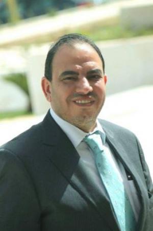 عبد الهادي محارمة مرشح الدائرة الرابعة في عمان