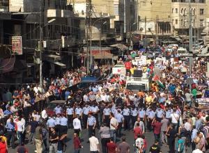 مسيرة الحسيني : يا حكام البرلمان بعتوا الوطن بالمجان