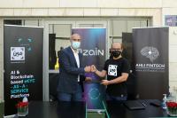 """شراكة بين زين وأهلي فينتك لتعزيز خدمات متجر زين الإلكتروني من خلال تطبيق """"أنا مين"""""""