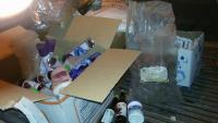 ضبط اغذية فاسدة بمتاجر في معان (صور)