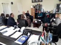"""حقوق """"عمان الأهلية"""" تستقبل وفدا من الشبكة القانونية للنساء"""