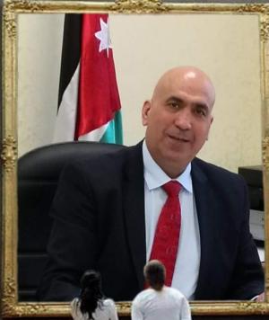الدكتور محمود سليمان زريقات مديرا لمستشفى الزرقاء الحكومي التعليمي