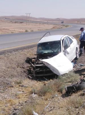 وفاة و 6 إصابات بحادث مروع في تحويلة القطرانة (صور)