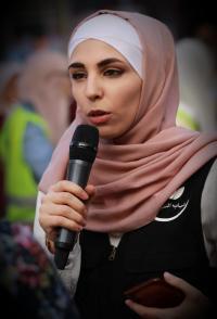 """شباب التغيير التطوعي يطلقون تقريرا حول المناسبات بظل الكورونا """"صور"""""""