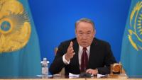 رئيس كازاخستان يتنحى عن الرئاسة