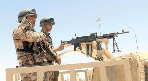 الجيش : الاشتباك مع 3 اجانب حاولوا اجتياز الحدود