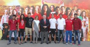 اللجنة الاولمبية تلتقي وفدنا الى اولمبياد البرازيل