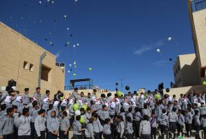 رياض ومدارس جامعة الزرقاء تقيم حفلا بمناسبة المولد النبوي