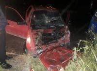 8 إصابات بحادث تصادم في جرش (صور)