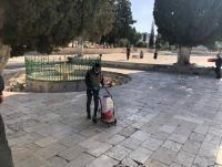 الإستعدادات لفتح الأقصى المبارك (صور)