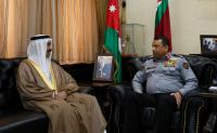 الحواتمة يستقبل السفير البحريني في عمّان