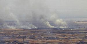 الإحتلال يقصف موقعا للنظام السوري في القنيطرة