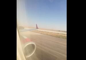 هبوط اضطراري لإحدى طائرات الملكية بعد اقلاعها بدقائق