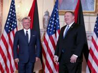 الملك يلتقي وزيري الخارجية والدفاع الأمريكيين