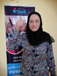 بعد تشردها في الشارع ..  صور فنانة مصرية في دار إيواء