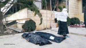 أم تودع أطفالها القتلى فمتى يستيقظ ضمير العرب ؟