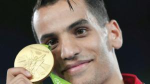 استقبال كبير للبطل الاولمبي الذهبي أبو غوش اليوم