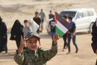 78 اصابة برصاص الاحتلال في المسير البحري الـ 13 بغزة