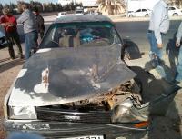 6 اصابات بحادث تصادم في مادبا
