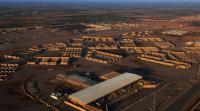 قصف صاروخي على قاعدة عراقية فيها مقاتلات أمريكية