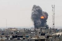 شهيدان بقصف صهيوني استهدف موقعا للمقاومة بغزة