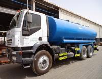 ضبط صهريج نقل مياه غير صالحة للشرب